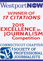WestportNow wins 17 citations in the 2015 Society of Professional Journalists, Connecticut Awards