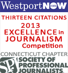 WestportNow wins 13 citations in the 1913 Society of Professional Journalists, Connecticut Awards