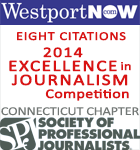 WestportNow wins 8 citations in the 2014 Society of Professional Journalists, Connecticut Awards