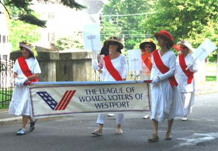 League of Women Voters at Yankee Doodle Fair
