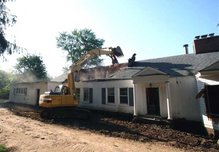 42 Old Hill Road, Westport CT demolished