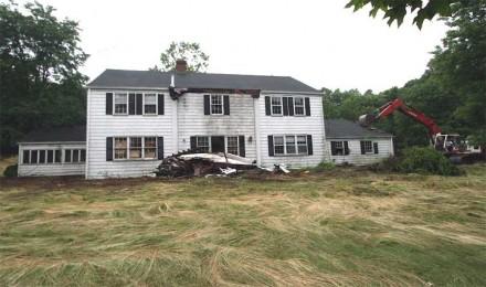 15 Bonnie Brook Road, Westport CT demolition