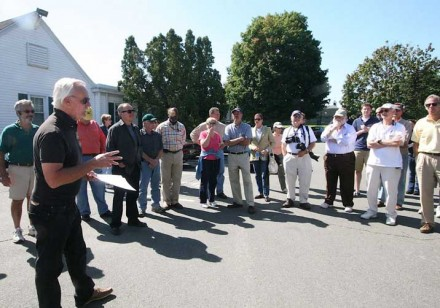 Bill Scheffler Outlines Nutmeg Tour Guidelines for Participants in Westport, CT