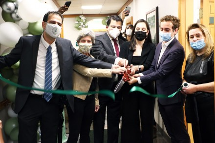 Rejuvenating Fertility Center, 225 Main St., Westport CT, Ribbon Cutting, Nov. 1, 2020, by Dave Matlow