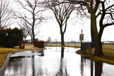 Flooding in Westport by Larry Untermeyer
