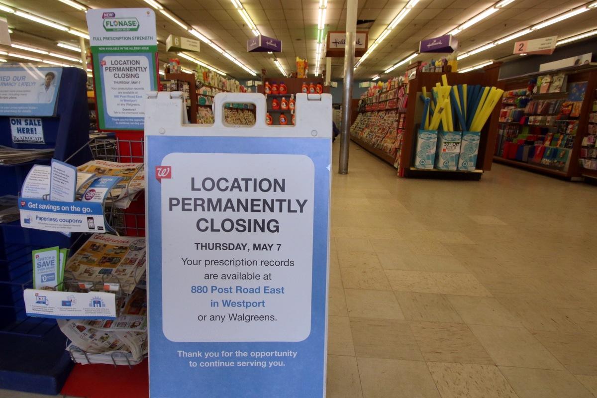 comings goings walgreens closing at 1870 pre westportnow com comings goings walgreens closing at 1870 pre