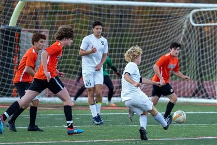 Soccer: Staples Wreckers beats Ridgefield on Oct. 14, 2020