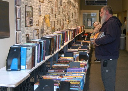 Library Sale Includes Collectibles