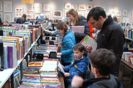 Library March Book Sale Under Way
