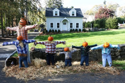 Entry into Halloween Decorating Contest 2020, 100 Hillspoint Road, Westport, CT, by Dave Matlow