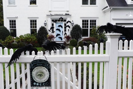 Entry into Halloween Decorating Contest 2020, 1 Quintard Place, Westport, CT, by Dave Matlow