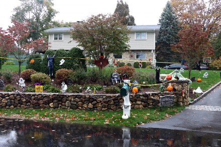 Entry into Halloween Decorating Contest 2020, 6 Loren Lane, Westport, CT, by Dave Matlow