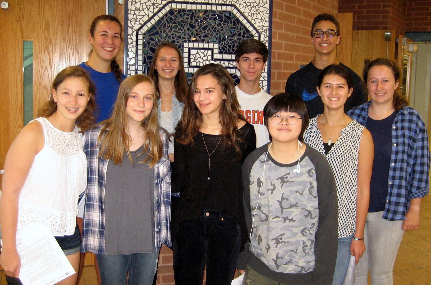 ten staples students d national merit semifinalists national merit scholarship program com image