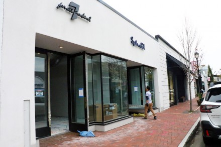 7 For All Mankind & Splendid being fitted for opening on 61 & 63 Main St. in Westport, CT