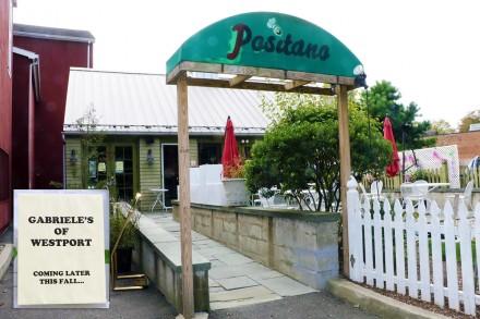 Positano Restaurant to close, Gabriele's to open