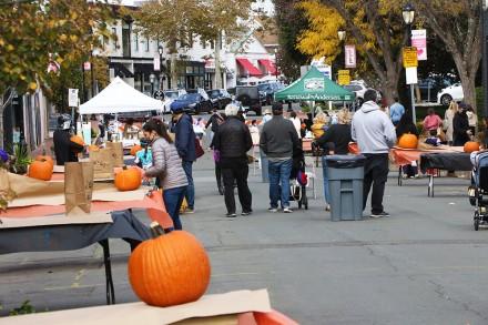 Pumpkinfest, sponsored by Westport Downtown Merchants Association & Westport Parks & Recreation, Oct. 25, 2020, by Dave Matlow