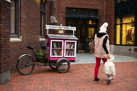 Remarkable Bookcycle, Westport, CT Nov. 15, 2020, by Jaime Bairaktaris
